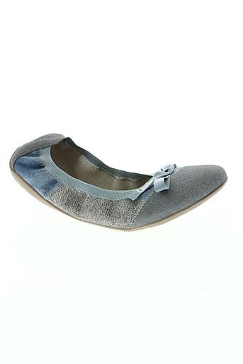 les p'tites bombes chaussures femme de couleur bleu