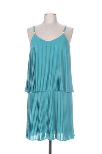 nathalie chaize robes femme de couleur vert