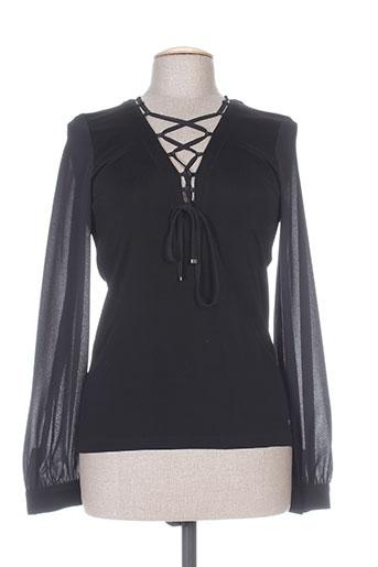 nathalie chaize chemises femme de couleur noir