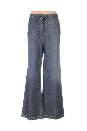 cambio jeans femme de couleur bleu