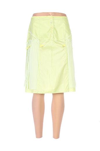 garella jupes femme de couleur vert
