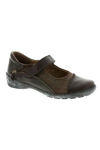 90da1d269d400 mod8 chaussures fille de couleur marron