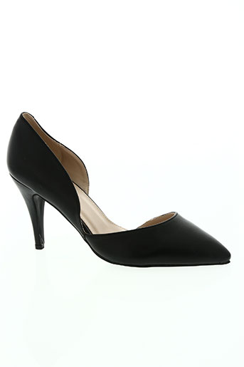 star miss chaussures femme de couleur noir