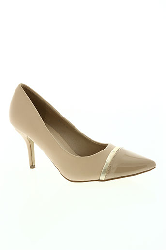 doli berry chaussures femme de couleur beige
