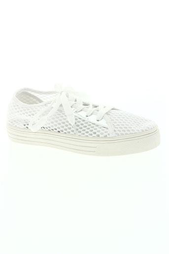 justin she chaussures femme de couleur blanc