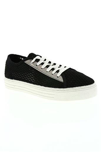 justin she chaussures femme de couleur noir