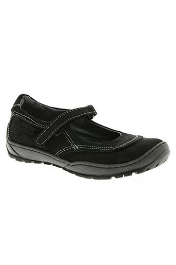 stones and bones chaussures fille de couleur noir