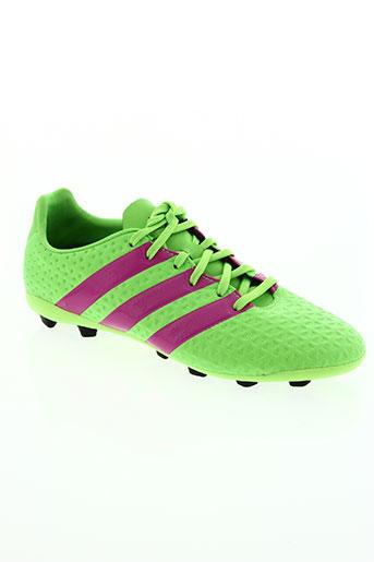 adidas chaussures garçon de couleur vert