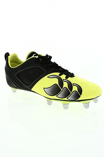 canterbury chaussures homme de couleur jaune