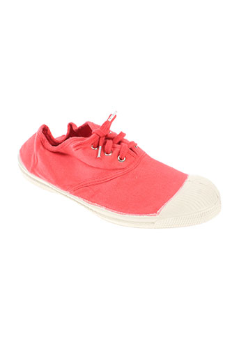 bensimon chaussures fille de couleur orange