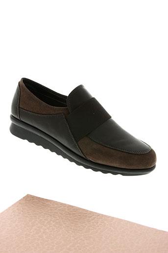 the flexx chaussures femme de couleur marron