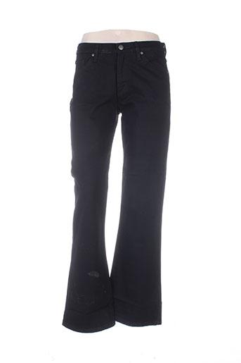 Jeans coupe droite noir BIG STAR pour femme