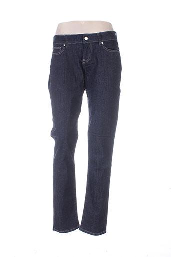 Jeans coupe slim bleu BIG STAR pour femme