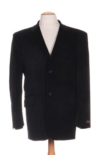 kamao vestes homme de couleur noir