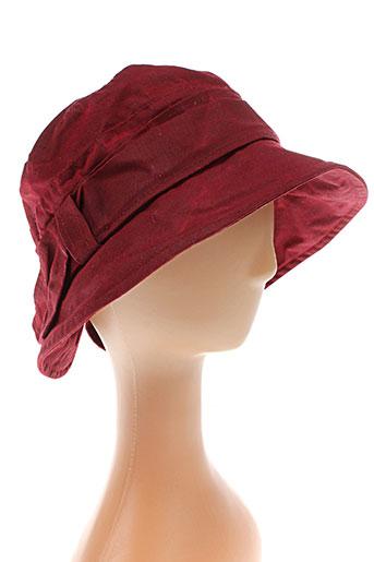 colamtiss accessoires femme de couleur rouge