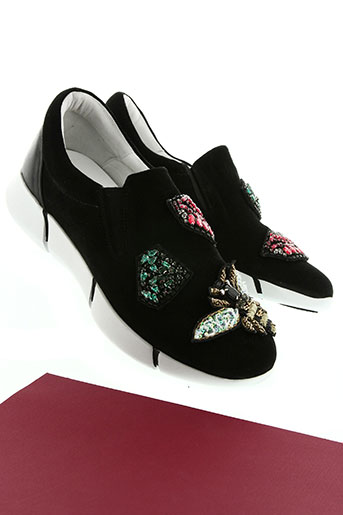 elena lachi chaussures femme de couleur noir
