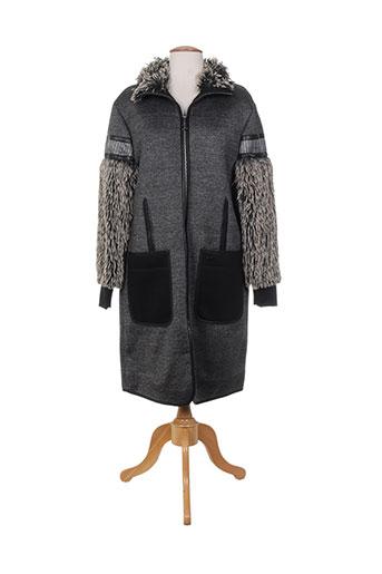 sportalm manteaux femme de couleur gris