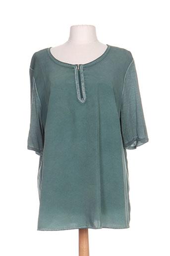no secret chemises femme de couleur vert