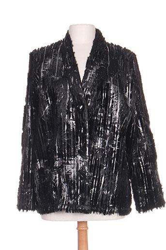 Veste casual noir FASHION CONCEPT pour femme