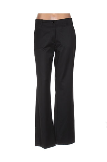 rivieres de lune pantalons femme de couleur noir