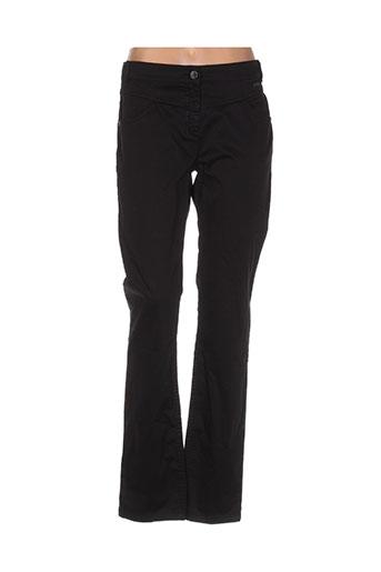 mae mahe pantalons femme de couleur noir