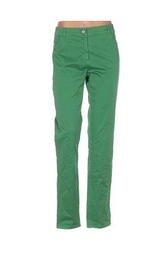 andamio pantalons femme de couleur vert