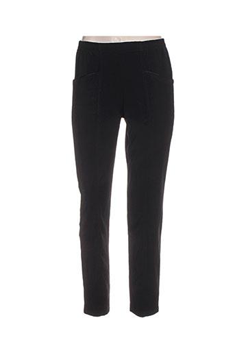 exclusivity pantalons femme de couleur noir
