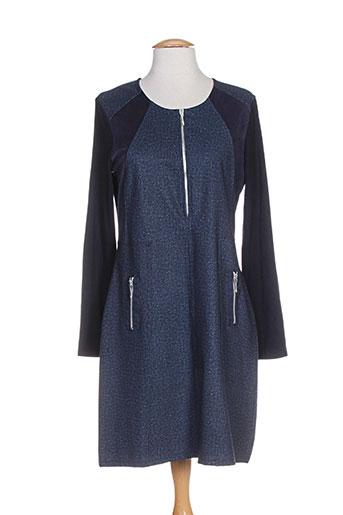 kalisson robes femme de couleur bleu