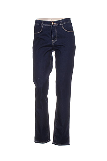 bariloche jeans femme de couleur bleu