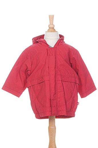 les bebes de floriane vestes enfant de couleur rouge