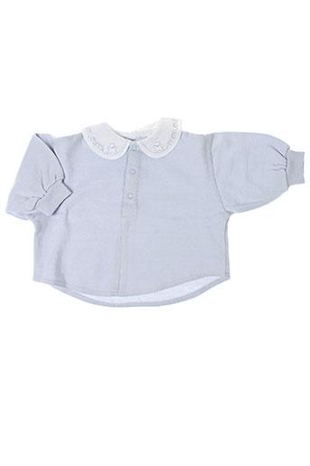les bebes de floriane pulls fille de couleur gris