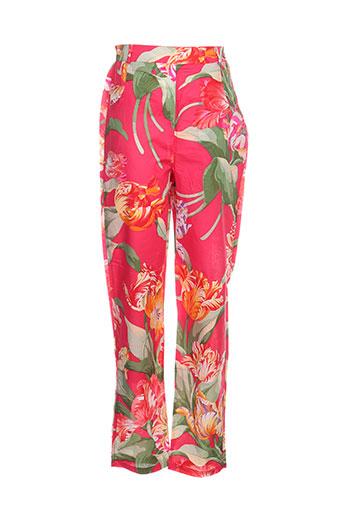 vem pantalons fille de couleur rouge