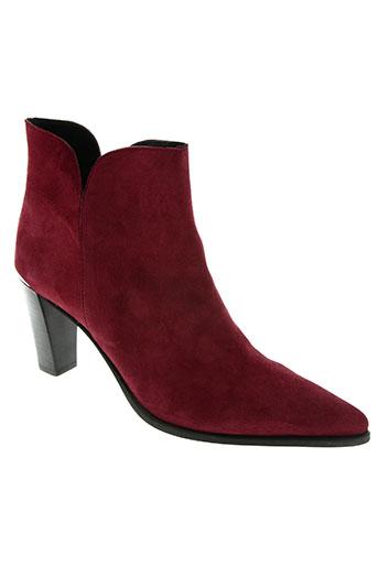 myma chaussures femme de couleur rouge
