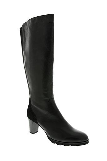 regarde le ciel chaussures femme de couleur noir