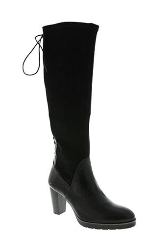 hispanitas chaussures femme de couleur noir