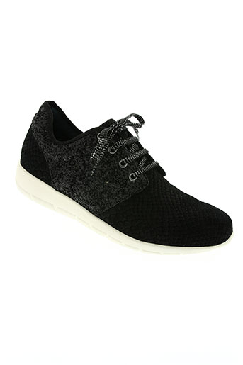 karston chaussures unisexe de couleur noir