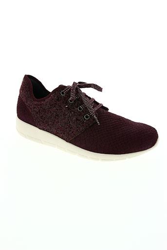 karston chaussures unisexe de couleur rouge