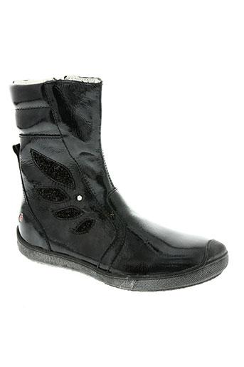 gbb chaussures fille de couleur noir