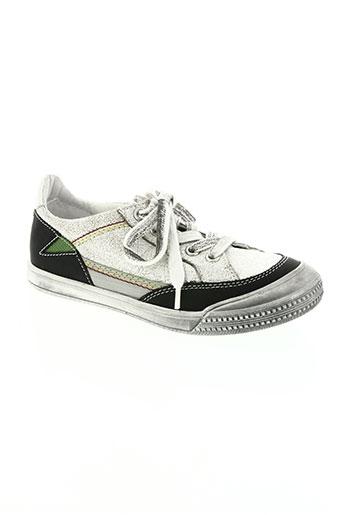 ramdam chaussures garçon de couleur blanc