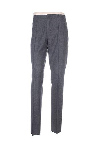 dirk bikkembergs pantalons homme de couleur gris