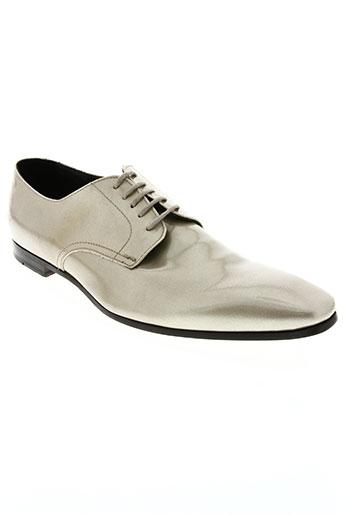paul smith chaussures homme de couleur jaune