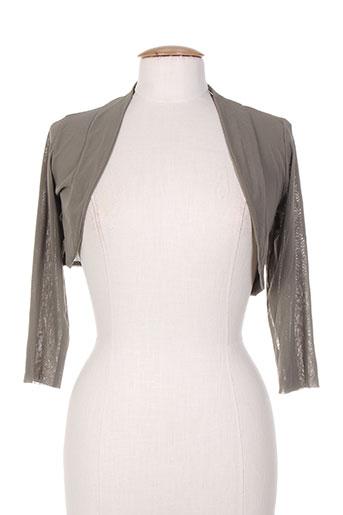 moretta vestes femme de couleur gris