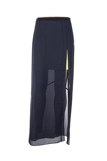 Jupe longue bleu APRIL MAY pour femme