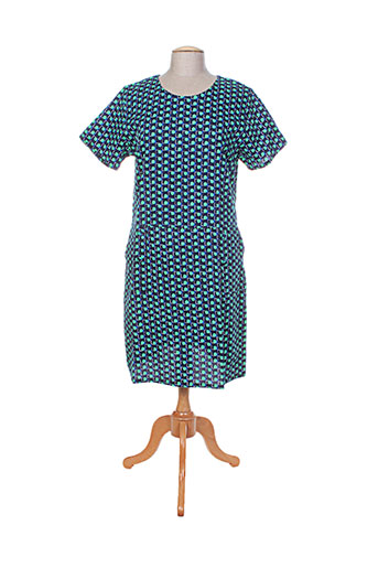 princesse nomade robes femme de couleur bleu