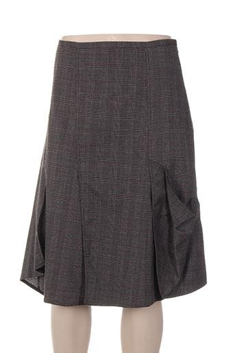 lauren vidal jupes femme de couleur gris