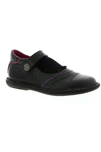 kickers chaussures fille de couleur gris