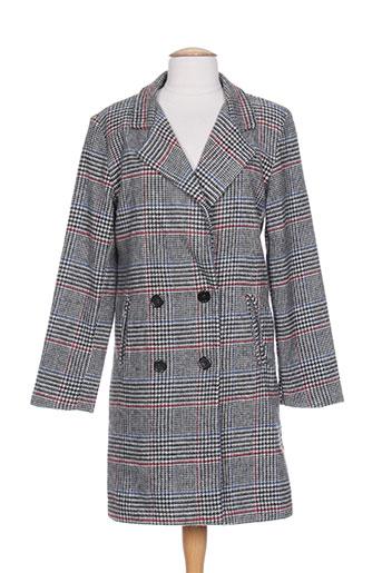 Manteau long noir GARCONNE pour femme