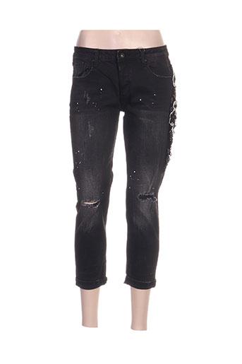 fracomina jeans femme de couleur noir