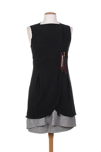 bleu blanc rouge robes femme de couleur noir