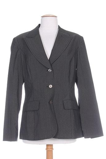 jensen vestes femme de couleur gris